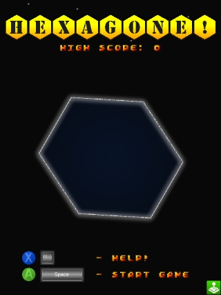 Hexagone! screen 1