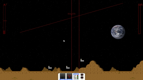 Moon Lander screen 2